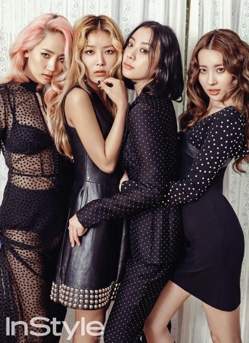 Wonder Girls. (Foto: InStyle)