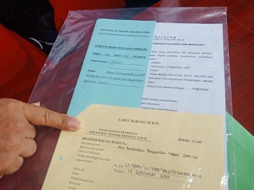 Akta nikah palsu Foto: Muhamad Rizky