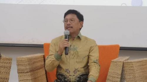 Menteri Komunikasi dan Informatika, Johnny G Plate. (Okezone)
