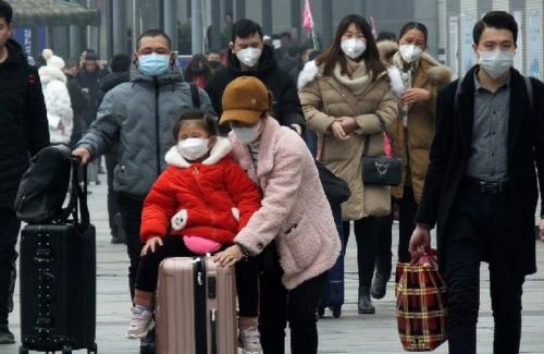 virus korona menyerang Wuhan