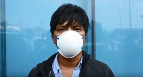 Masker wajah biasa tidak dapat melindungi seseorang dari virus korona, 2019-nCoV.