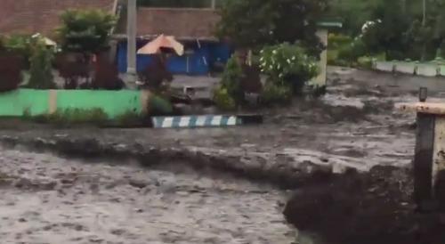 Banjir Bandang di Bondowoso Foto Ist
