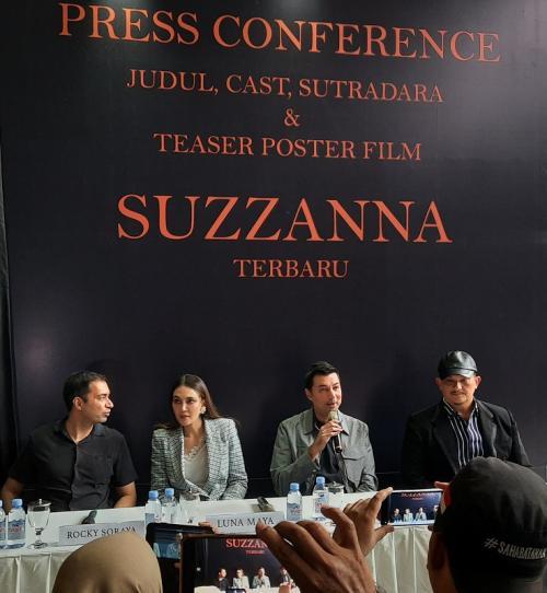 Konpres film baru Suzzanna. (Foto: Okezone/Ady Prawira Riandi)