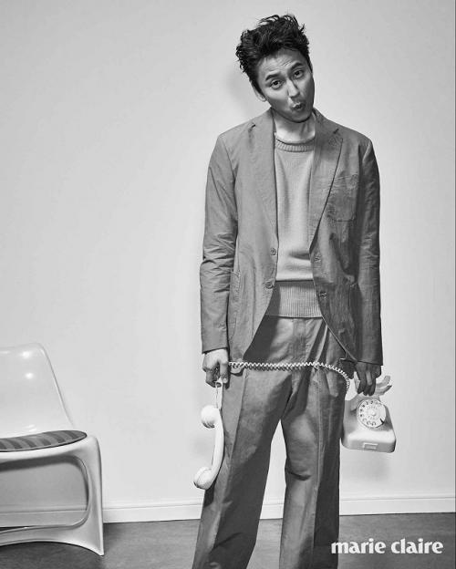 Kim Nam Gil. (Foto: Marie Claire)