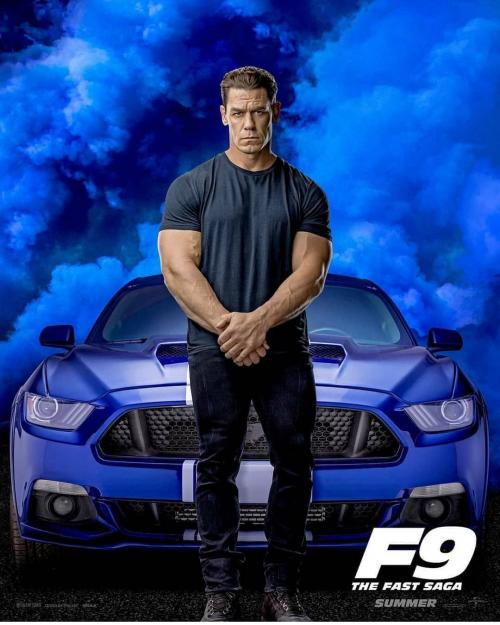John Cena di poster fast and furious 9
