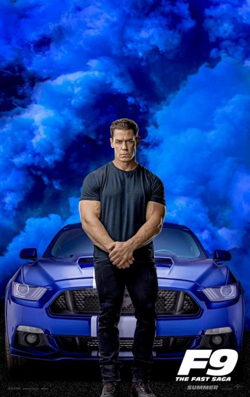 Poster John Cena dalam Fast and Furious 9. (Foto: Universal Pictures)