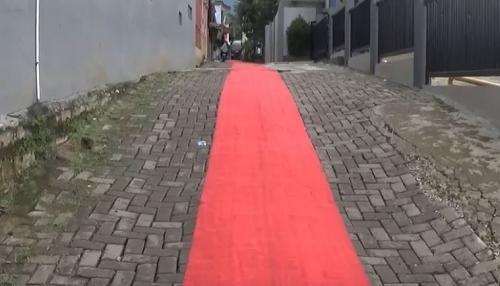 Karpet Merah pengantin