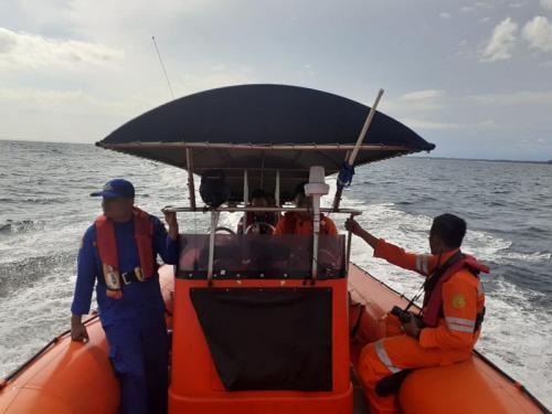 Pencarian kapal nelayan yang dinyatakan hilang di perairan Mukomuko (foto: Tim SAR Gabungan/Ist)