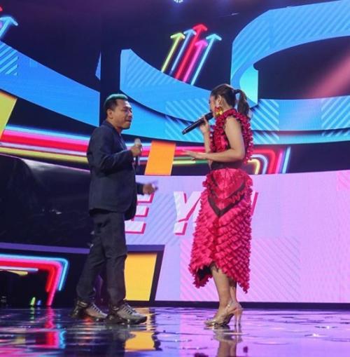 Anang Hermansyah dan Tiara di Indonesian Idol 2020. (Foto: Instagram/@indonesianidolid)