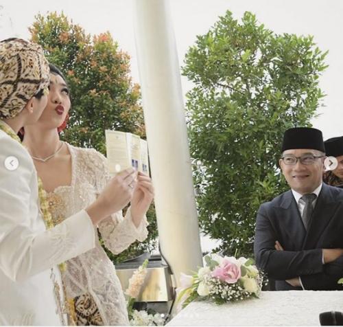 Pernikahan Isyana Sarasvati