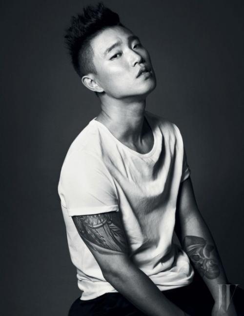 Kang Gary. (Foto: W Magazine)
