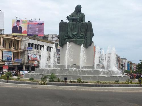 Monumen Ibu Fatmawati di Bengkulu (foto: Okezone/Demon F)