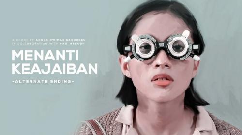 Poster film pendek Menanti Keajaiban. (Foto: Visinema Pictures)