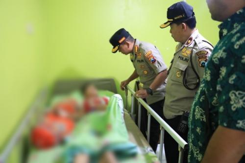Korban bullying tengah menjalani perawatan di rumah sakit. (Foto: Istimewa)
