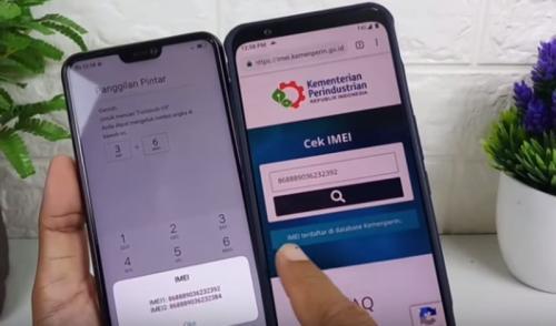 IMEI (International Mobile Equipment Identity) merupakan 15 digit yang digunakan pada ponsel GSM.
