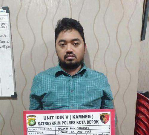 Anwar, pelaku penipuan WO Pandamanda. (Okezone)