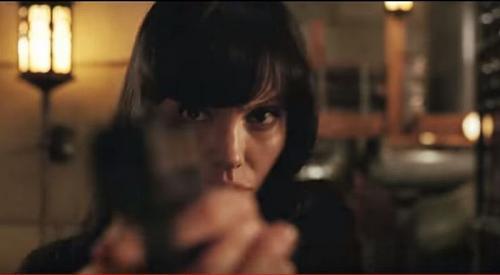 Angelina Jolie di Film Salt