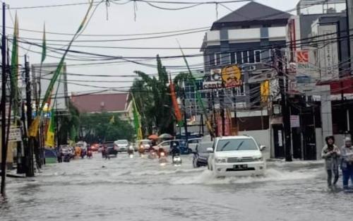 Banjir di Taman Ratu