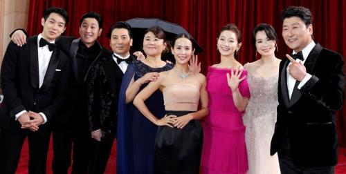 Para aktor Parasite. (Foto: Yonhap News)