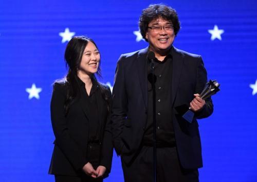 Bong Joon Ho dan Sharon Choi