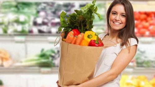 belanja sayuran segar