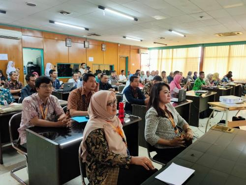 Magang tenaga pendidik dan kependidikan pertanian (Foto: BPPSDM)