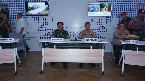 TNI-Polri Sinergi Antisipasi Karhutla di Riau (foto: Ist)
