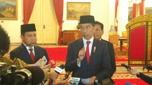 Presiden Jokowi (Foto : Okezone.com/Fahreza Rizky)