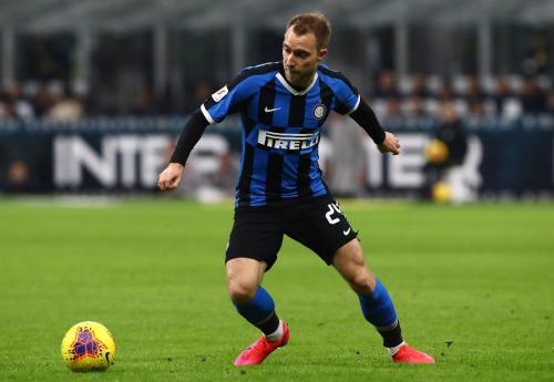 Christian Eriksen jarang mendapat tempat di Inter Milan