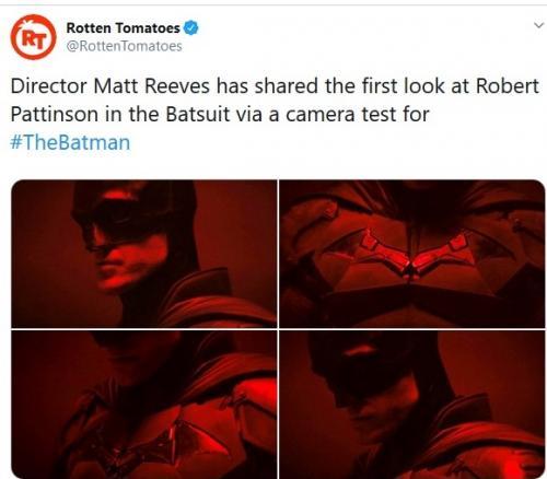 Robert Pattinson sebagai Batman
