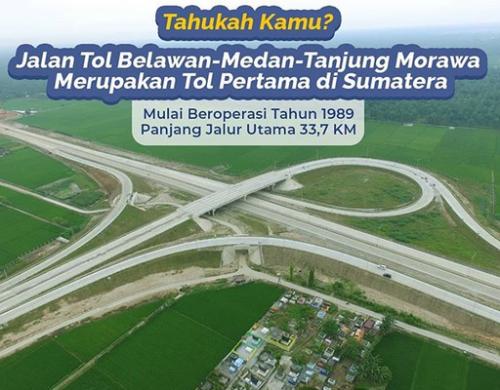 Tol Pertama di Sumatera