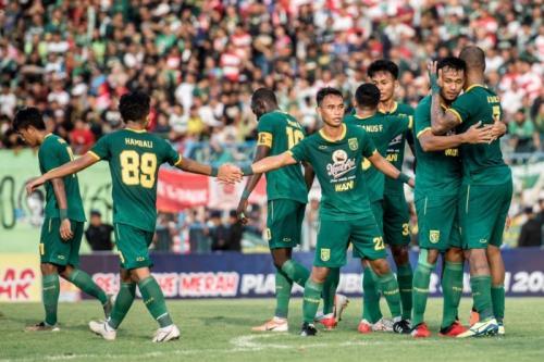 Persebaya Surabaya melenggang sebagai juara Grup A (Foto: Situs resmi Persebaya)