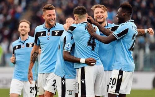 Lazio tengah melaju kencang di Liga Italia (Foto: Instagram/Sergej Milinkovic-Savic)