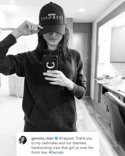 Gemma Chan. (Foto: Instagram/@gemma_chan)
