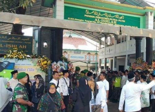 Lokasi Pemakaman Wakil Wali Kota Kediri Lilik Muhibbah (foto: Istimewa)