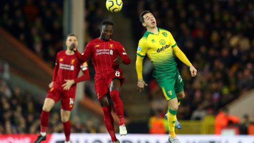 Naby Keita vs Norwich City (Foto: Premier League)