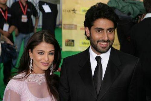 Abhishek Bachchan dan istri, Aiswarya