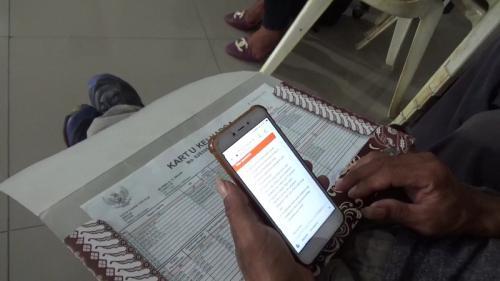 Warga perbatasan NTT-Timor Leste siap ikuti sensus penduduk online. (Sefnat Besie)