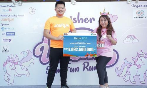 MNC Life Bersama JomRun Gelar Lari Marathon di Bogor (foto: Ist)