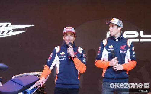 Alex dan Marc Marquez memperkuat Repsol Honda di MotoGP 2020 (Foto: Okezone/Arif Julianto)