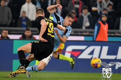 Suasana laga Lazio vs Inter Milan