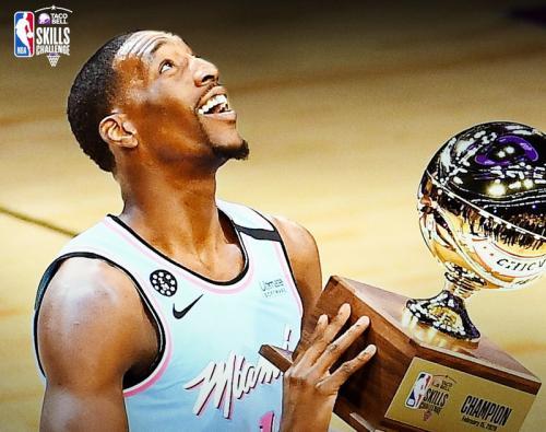 Bam Adebayo juara skill challenge NBA All-Star 2020