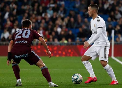 Suasana laga Madrid vs Celta
