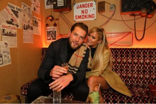 Lewis Burton dan Caroline Flack (Matrix Picture)
