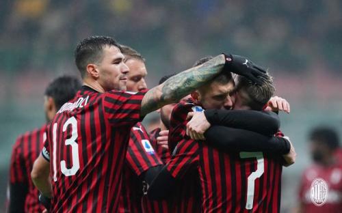 AC Milan selebrasi