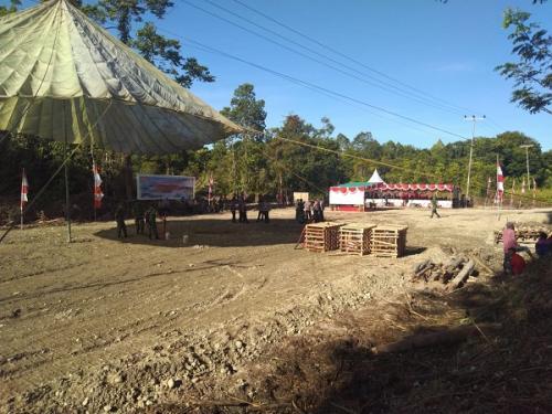 Makogabwilhan III akan dibangun di lahan seluas 75 hektare di SP V, Kampung Limau Asri Timur, Distrik Iwaka, Kabupaten Mimika, Papua. (Foto : Okezone.com/Salman Mardira)