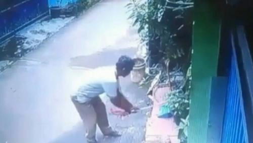 Viral pria di Bekasi bunuh kucing. (Foto: Ist)