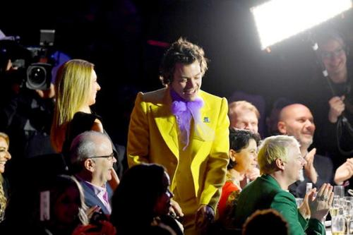 Busana Neon Harry Styles