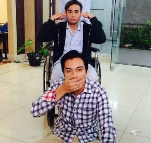 Baim Wong dan Ashraf Sinclair