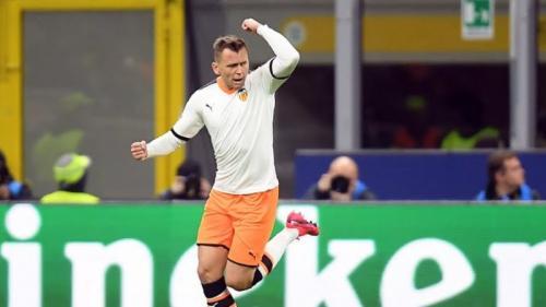 Dennis Cheryshev mencetak satu gol untuk Valencia (Foto: Reuters)